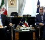 The Minister of Culture Salehi meets amb. Italy