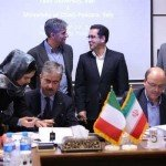 A delegation of the dnunzio visiting the university of Yazd in Iran