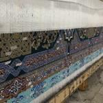 The weaving of the third most gritty carpet in the world has begun