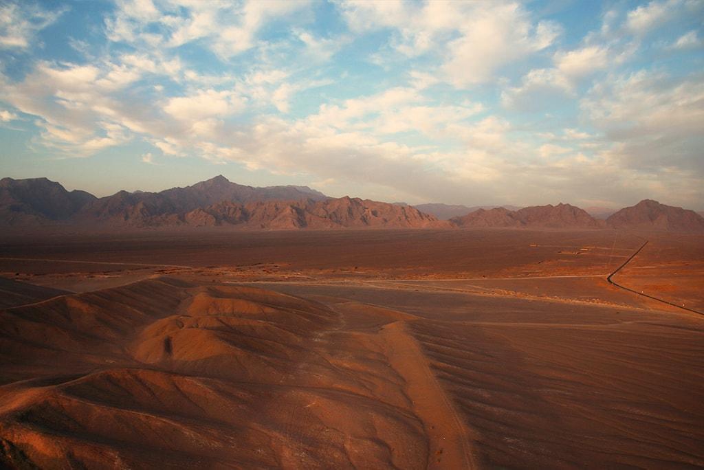 I deserti della regione di Yazd