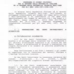 Programma esecutivo per gli anni 1996– 1999