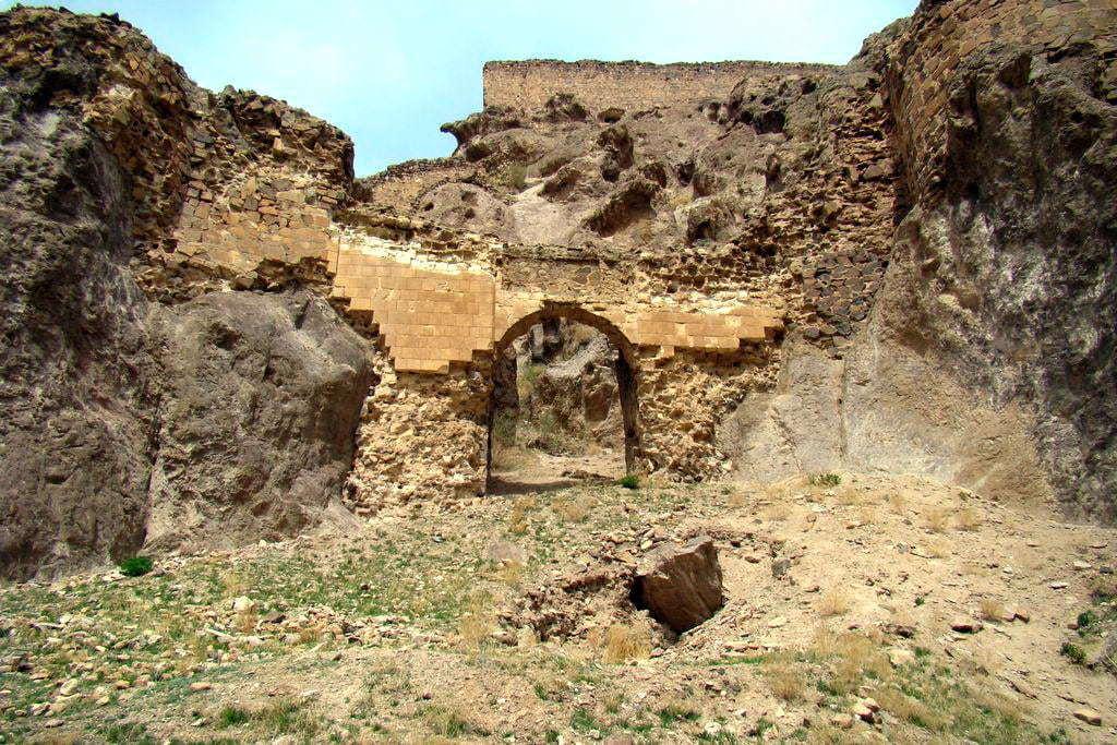 Eastern Azerbaijan-Dokhtar Fortress (Qiz Qalasi)