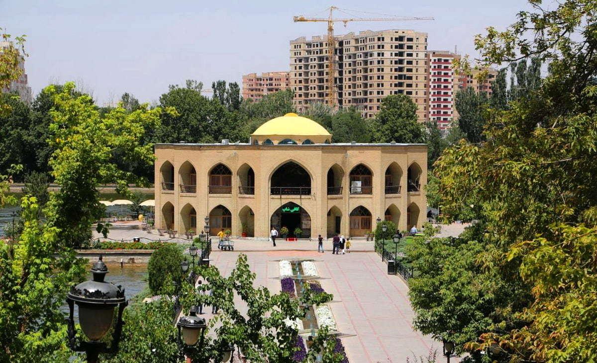 Azerbaigian Orientale-Il Palazzo di El-Goli