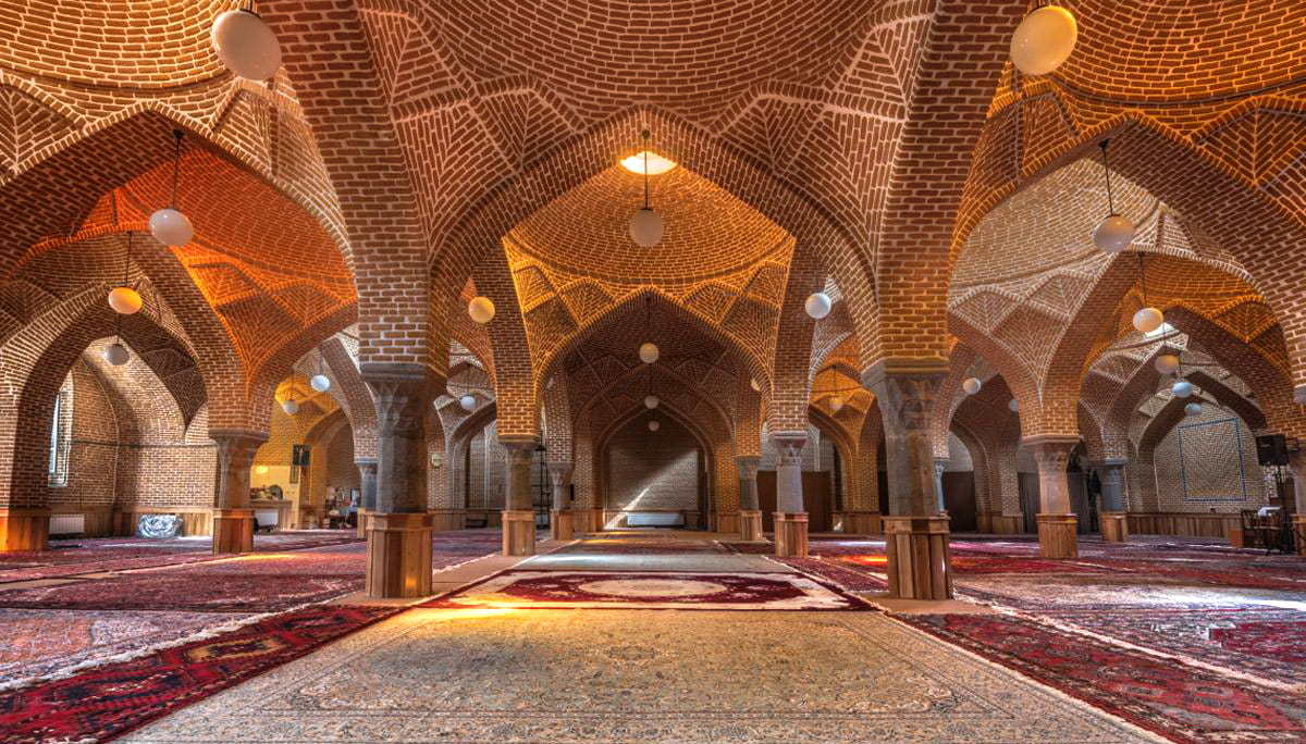 Azerbaigian Orientale-Moschea Jāme'h (Grande) di Tabriz