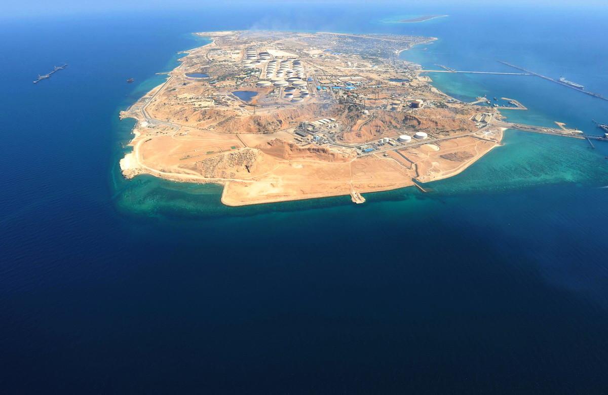 बुशहर-द खार द्वीप