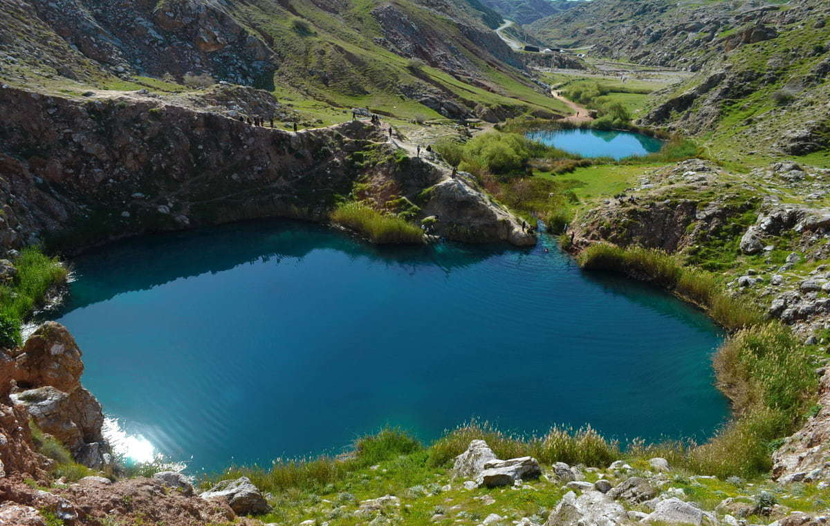 إيلام - البحيرات التوأم من سياه جاف