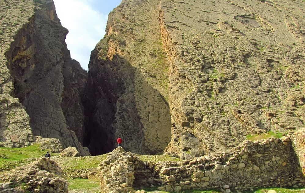 Il Passo montano di Bahram-e Chubin