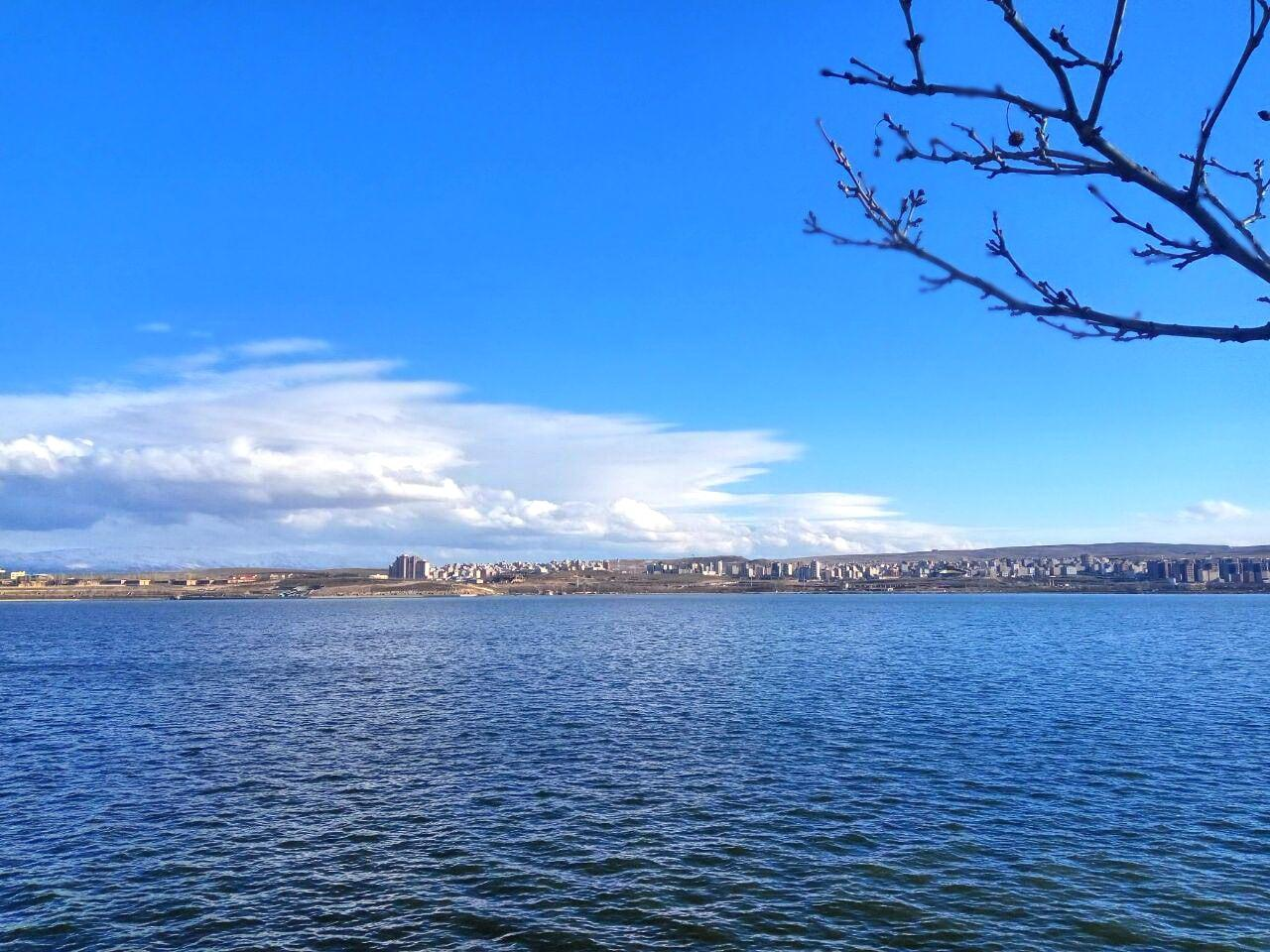 ardabil - the shurabil lake