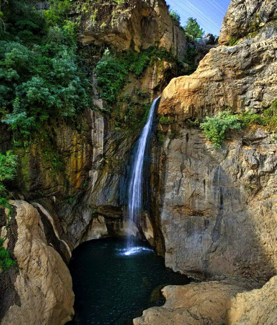 Western Azerbaijan - The Shalmash Waterfall