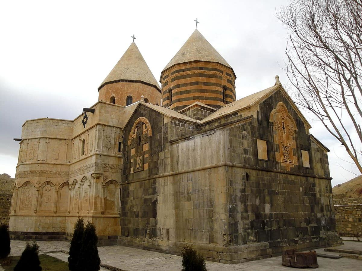 L'église noire (Qara Kelisa ou Tatavus)