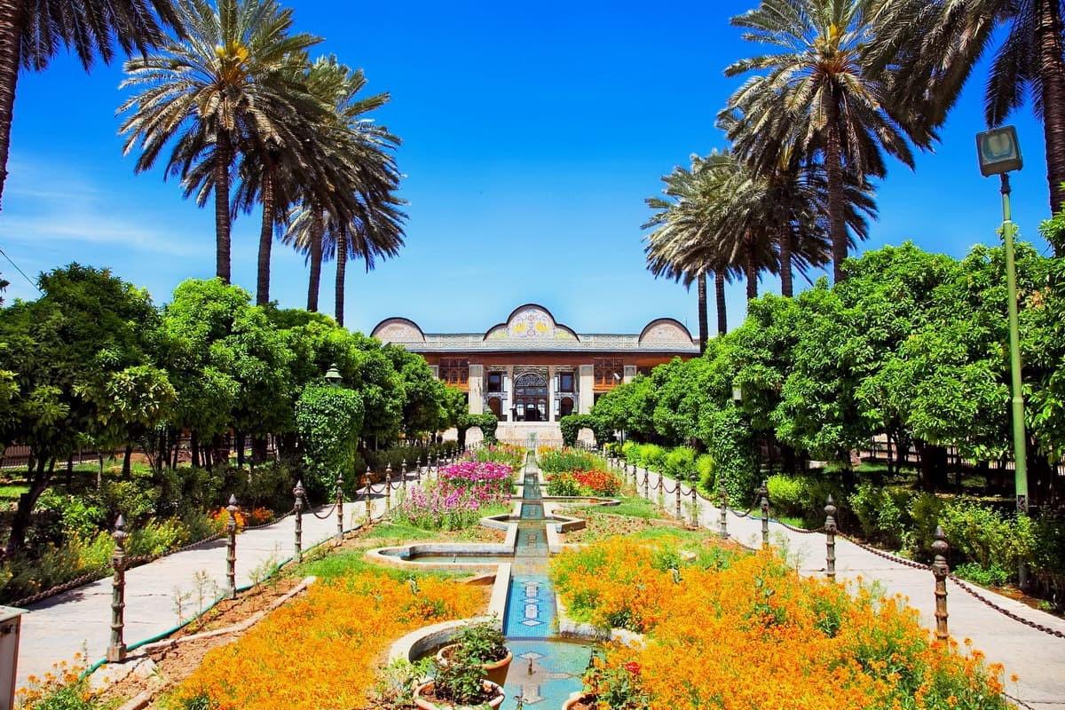 giardino - Bāgh-e Nārenjestān-e Qavām a Shirāz