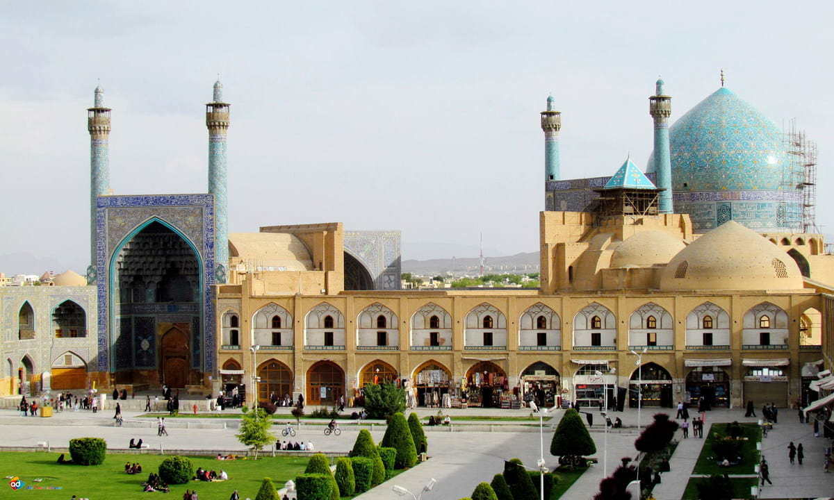 Esfahan - moschea dell'Imam