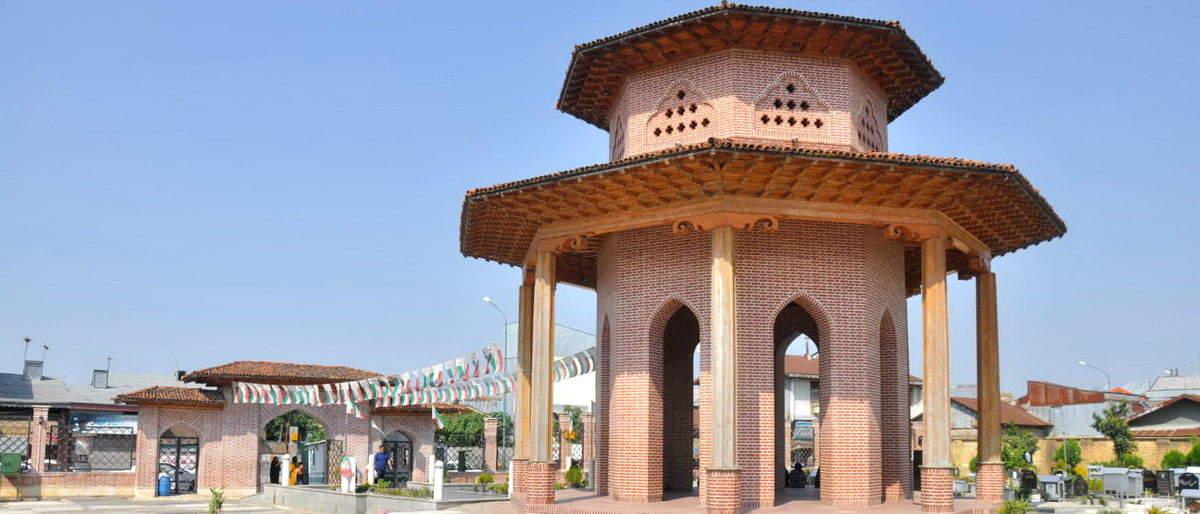 Gilan-Il Mausoleo Di Mirza Kochak Khan-E Jangali