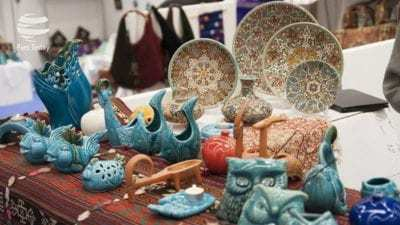 معرض هومي في ميلانو هو موطن للحرفيين الإيرانيين.