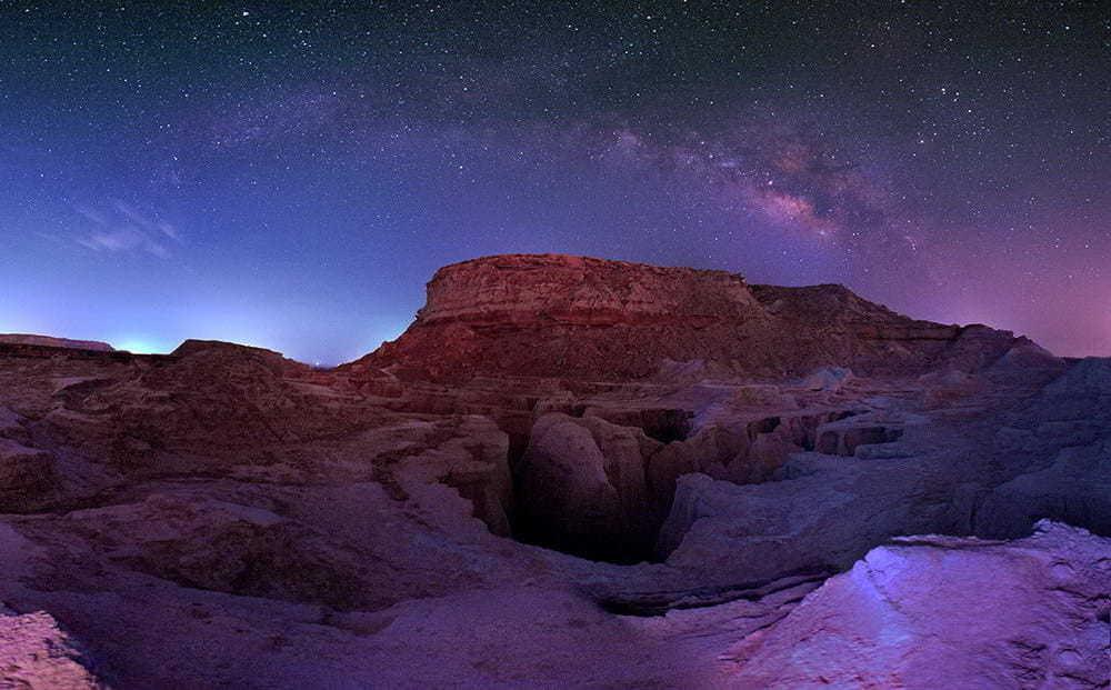 Valle delle stelle cadenti