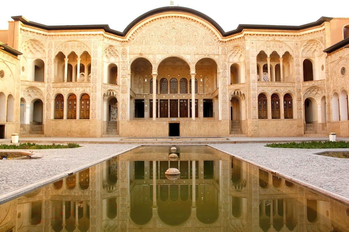 Kashan-House of Tabātabāei