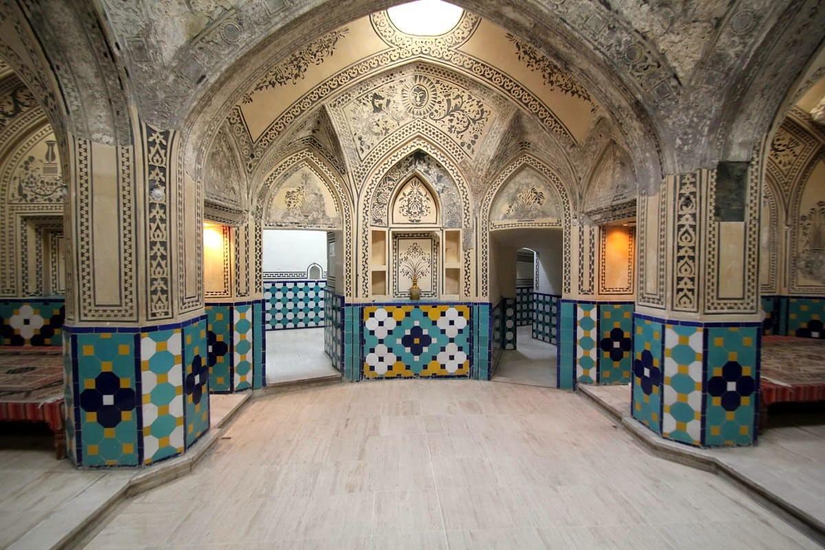 Kashan - The Baths of Bagh-e Fin