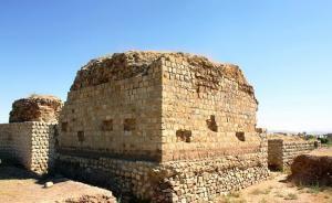 火灾Chahar Qapi寺庙
