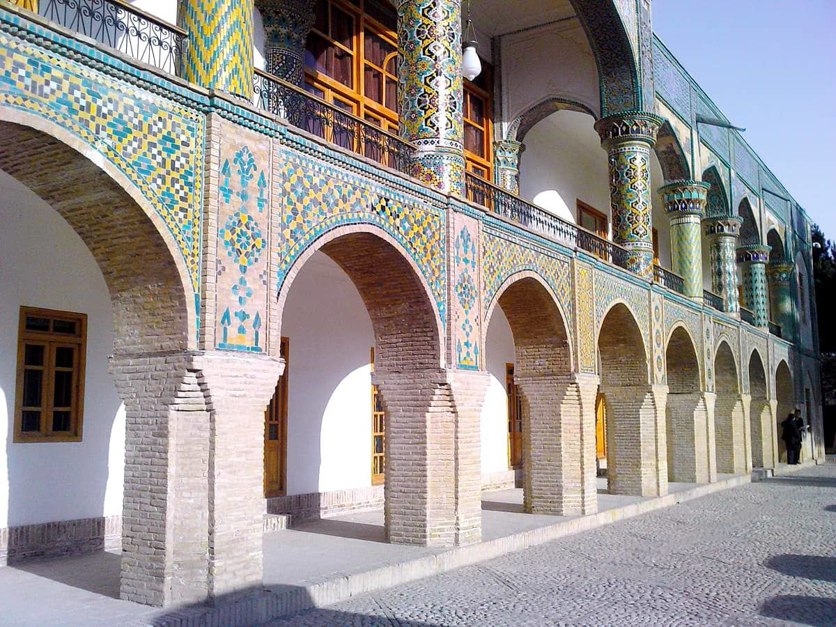 Khorasan Settentrionale-Palazzo Ayneh Khane Mofakham