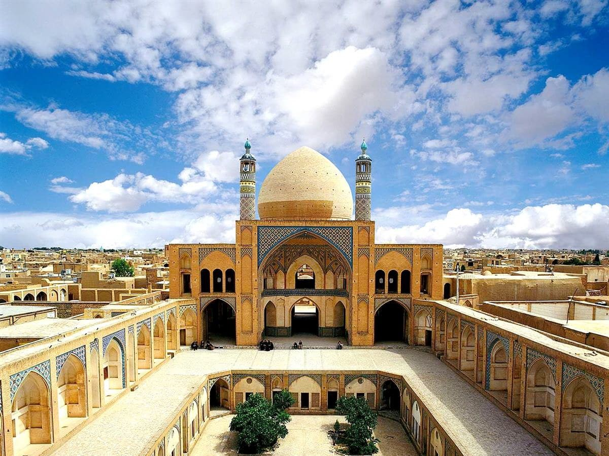 Kashan - The Mosque Of Agha Bozorg