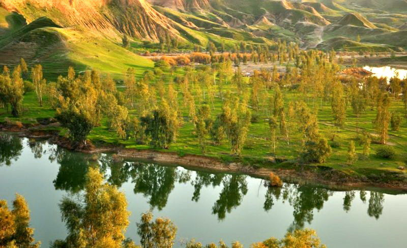 Khuzestan-Lago Chāh Māri