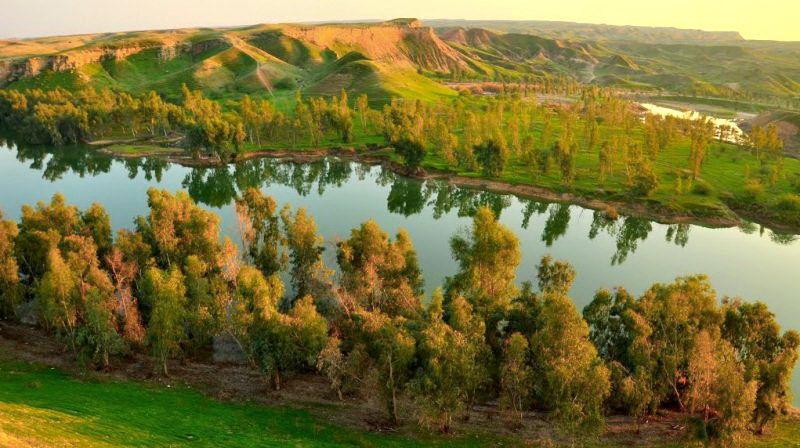 خوزستان - بحيرة شاه ماري