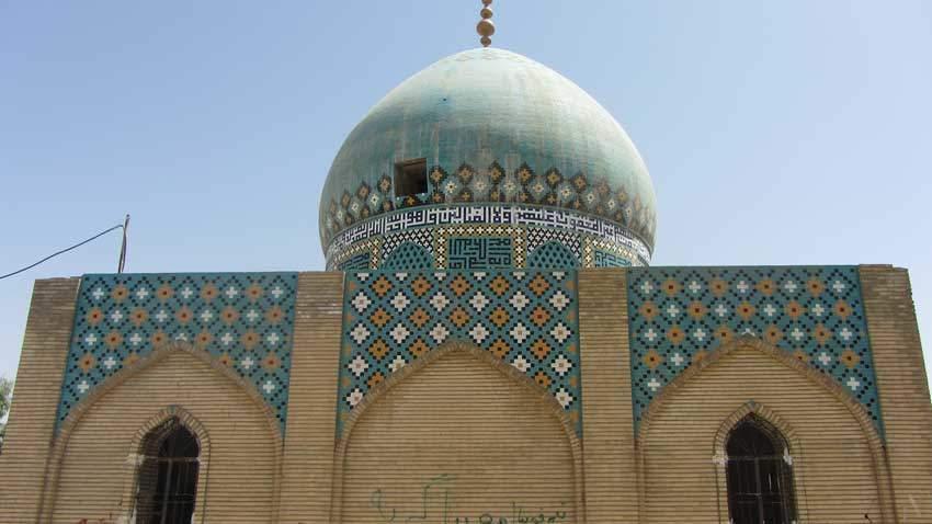 Khuzestan-Mausoleo di Bar'ā Ben Mālek