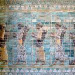 Khuzestan-Суза Apadana палац