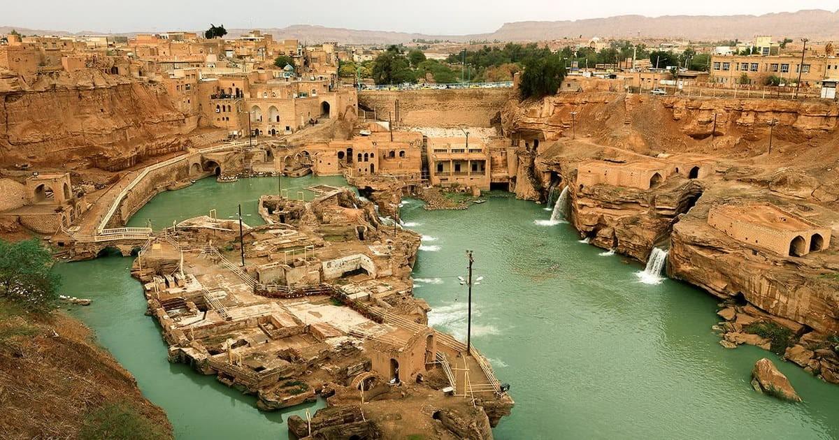 Khuzestan-Sistema idraulico di Shushtar