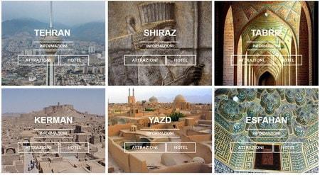 дестинације и туристичке дестинације Иран