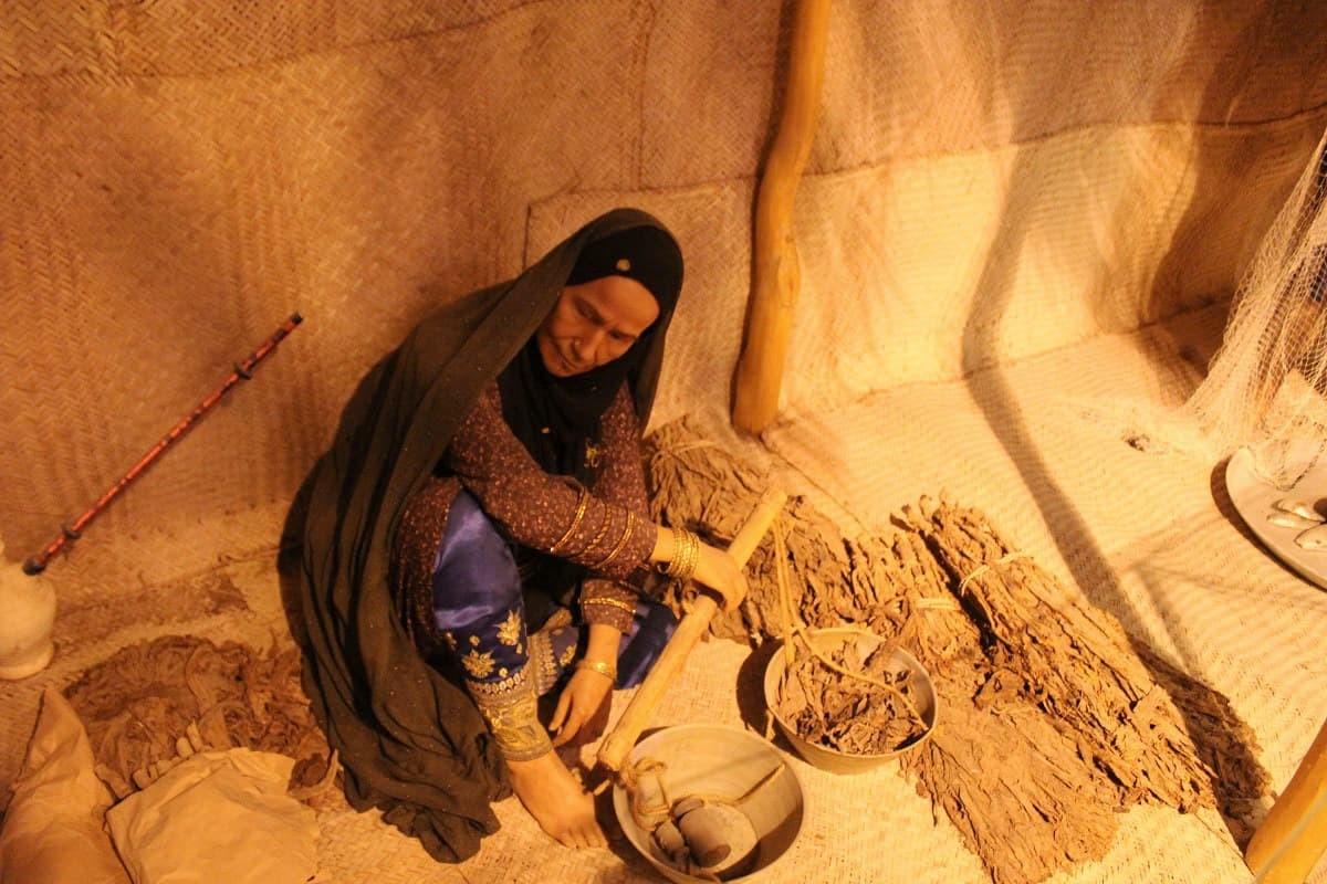 페르시아만의 호르 모즈 간 인류학 박물관