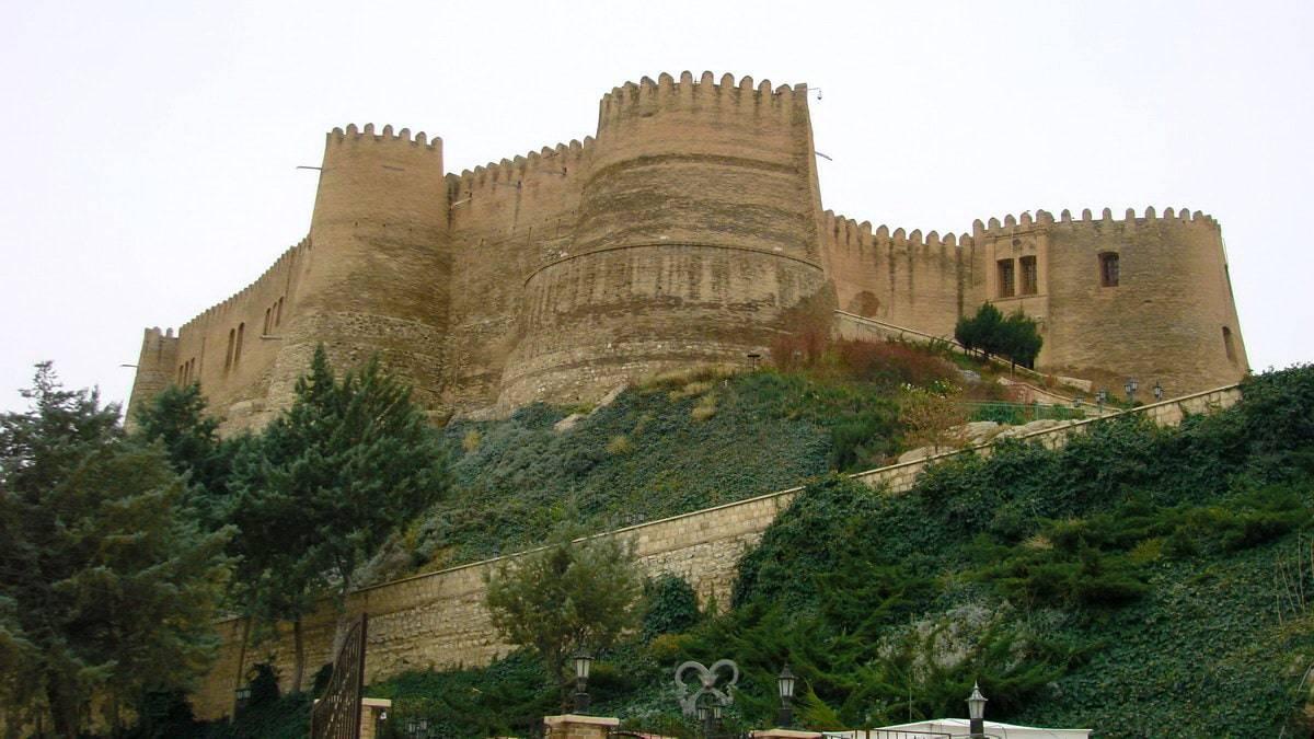 Falak-Ol-Aflak-slottet