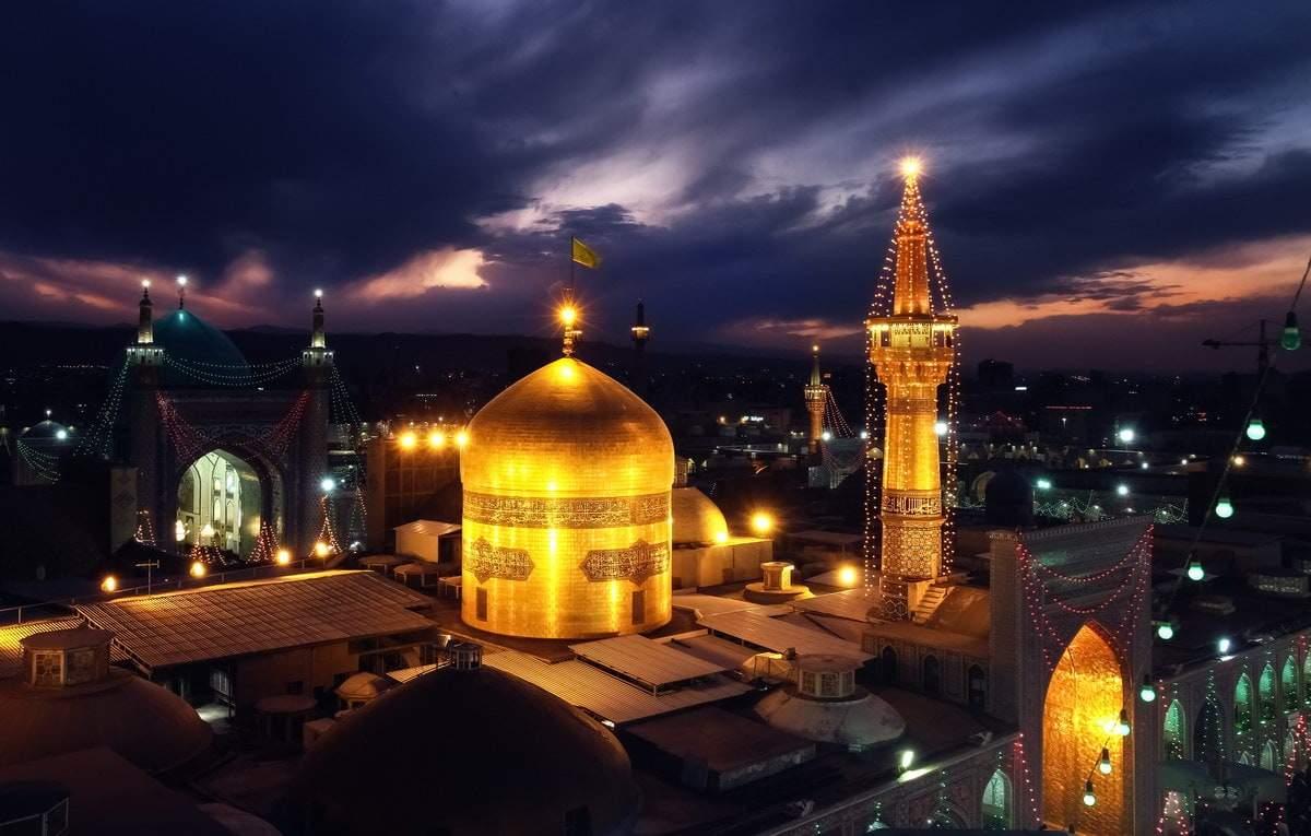 Մեշհադ - Իմամ Ռեզայի սրբապատկերը
