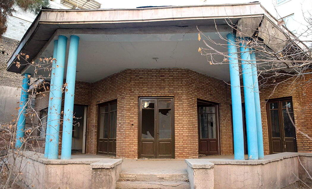 La casa di Nima Yushij