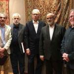 Consigliere presidente Rohani incontra studioso di tappeti