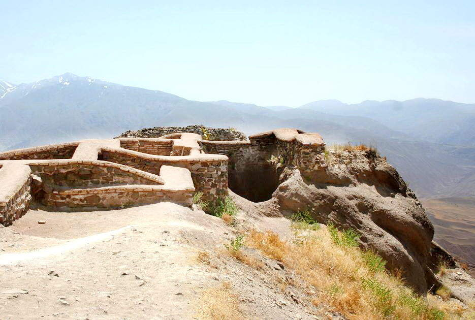 Qazvin 성 Alamut의