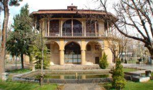 Palazzo Chehel Sotun di Qazvin