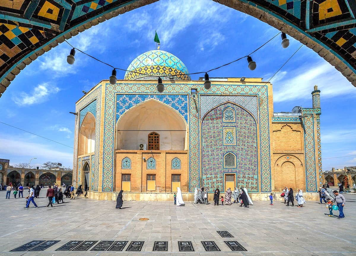 Qazvin-Santuario Shāhzādeh Hossein