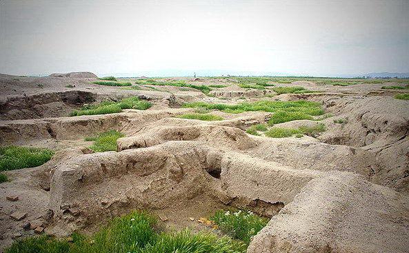 قزوين - المنطقة الأثرية في تيبه زاغة