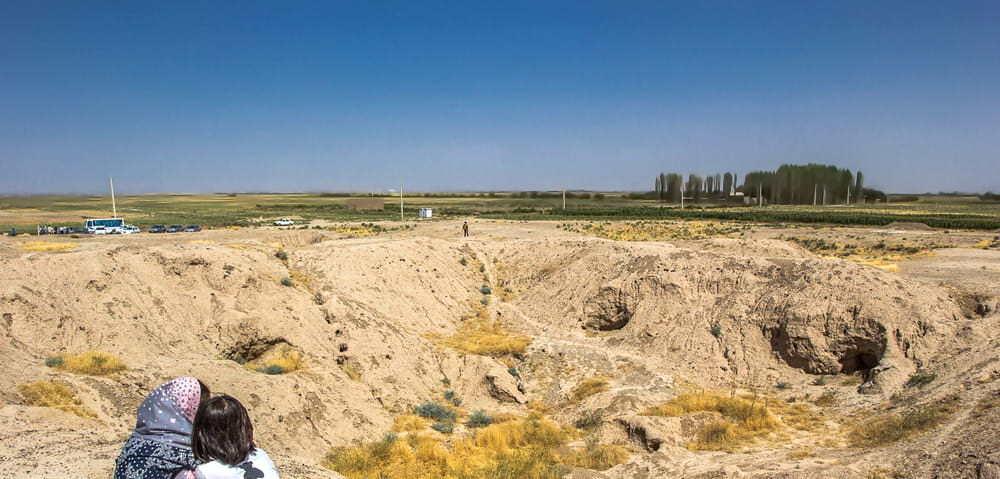 काज़्विन - क़ब्रिस्तान हिल