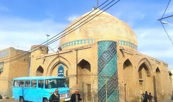 La Moschea di Sanjide