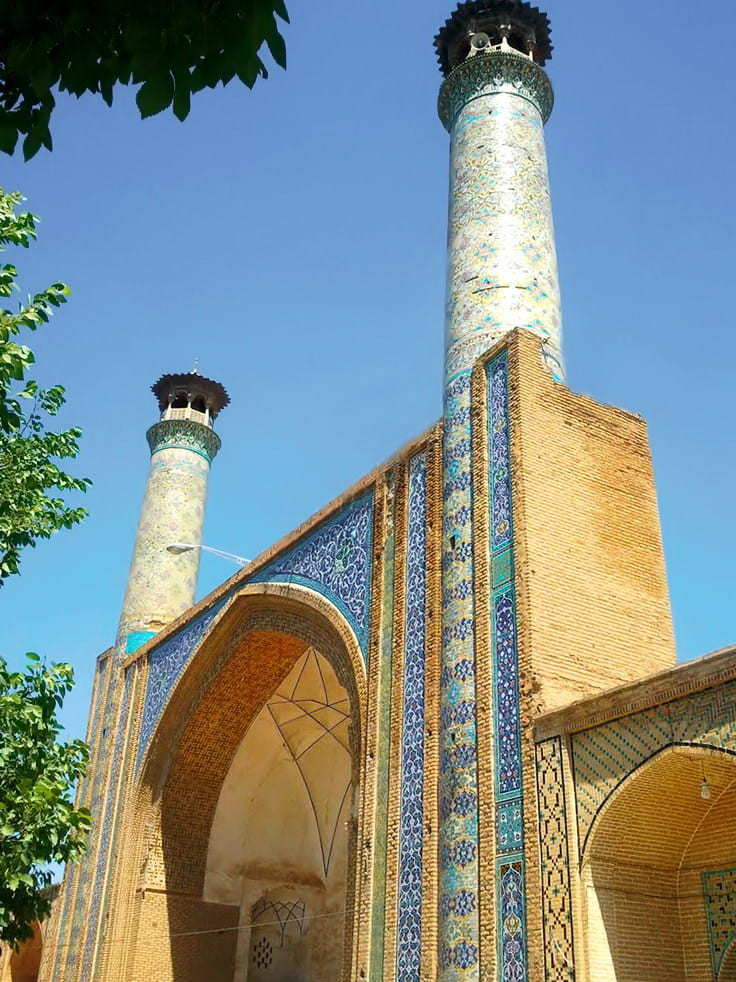 Qazvin-Jām'eh 모스크 (그레이트 모스크)