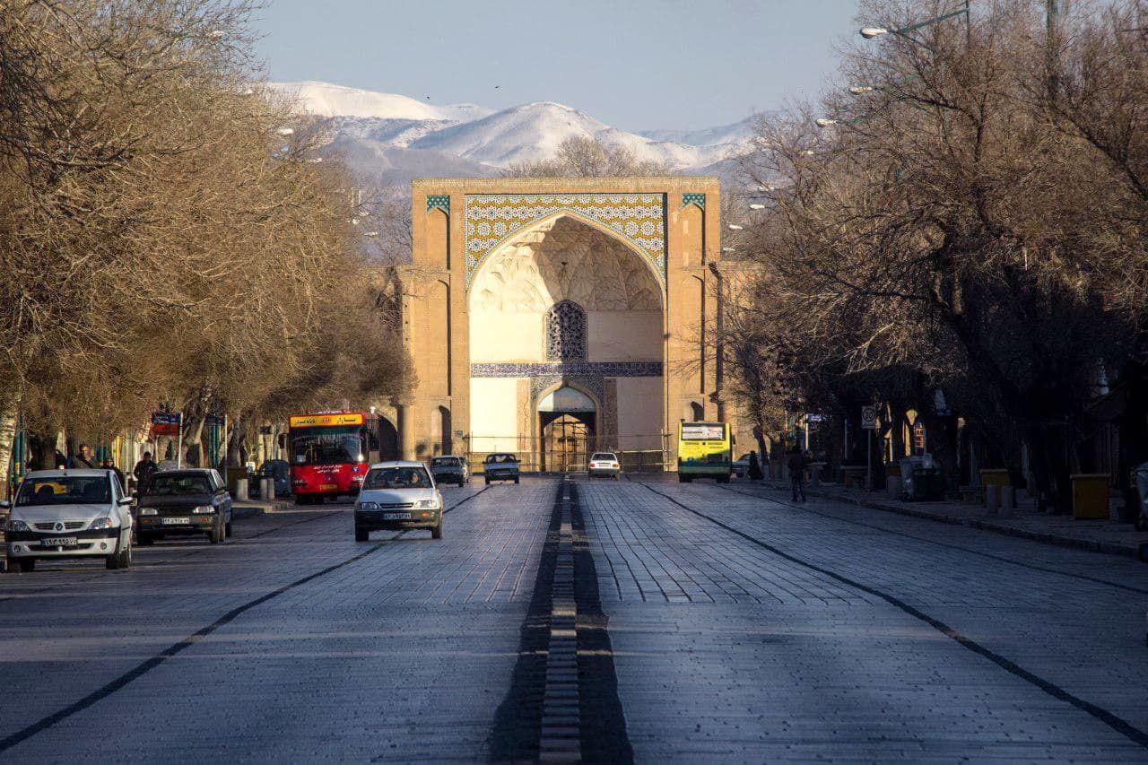 Qazvin-Portale Ali Qapu