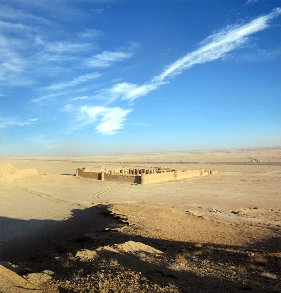 Qom-Caravanserraglio in pietra Mohammad Abad