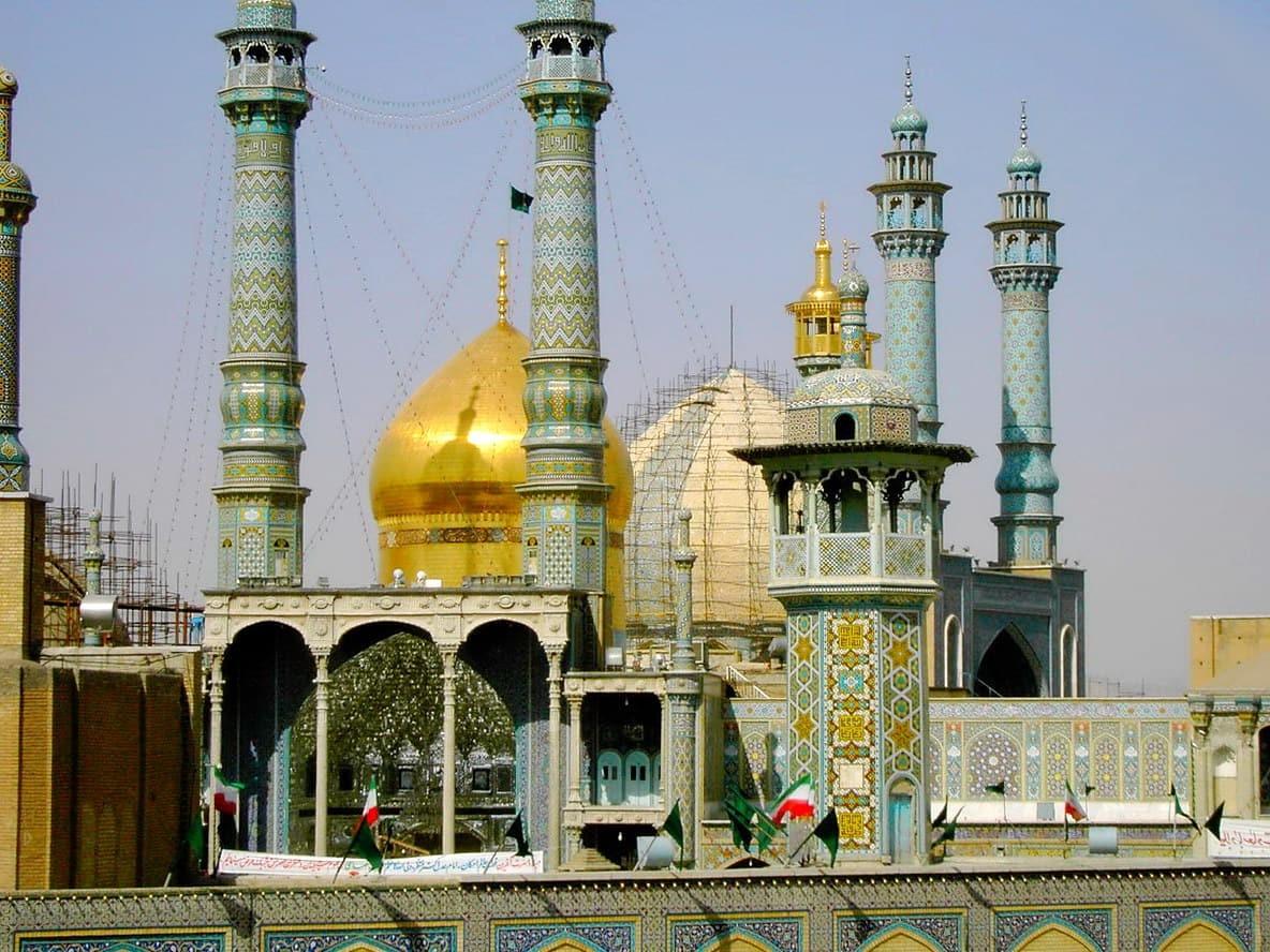 Qom-Mauzoleun e Fatima Masoumeh