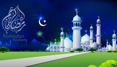 Auguri per inizio del Sacro mese di Ramadan