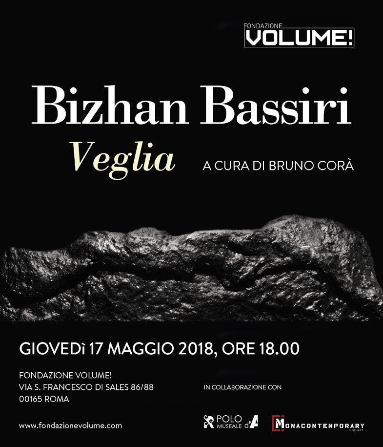 Bizhan Bassiri alla Fondazione Volume