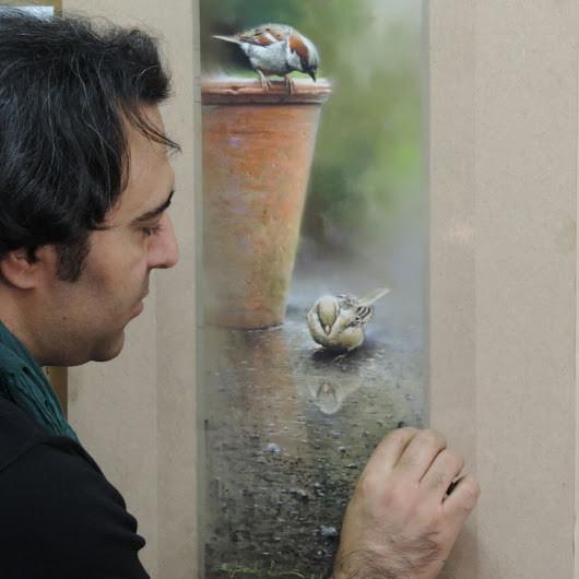 Exposición artística de pinturas naturalistas