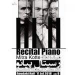 Iran concerts: Mitra Kotte, 11 July 2018