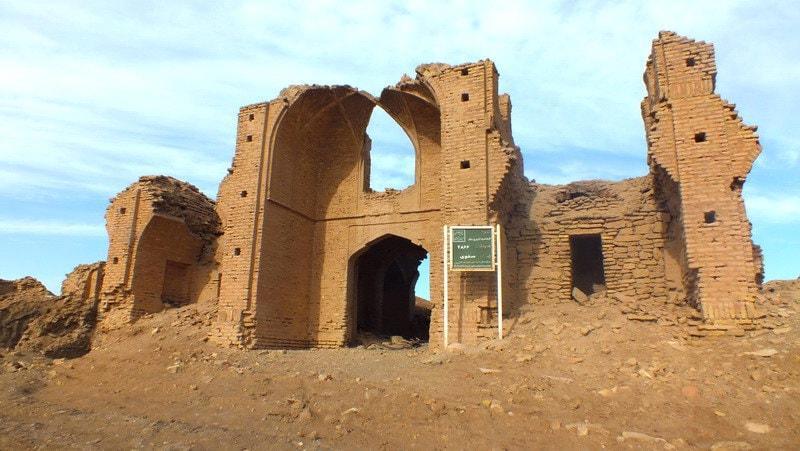 हरी ईंट पोल डलाक में Qom-Caravanserai